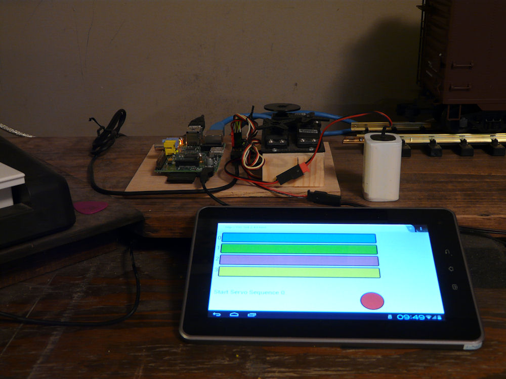 Rpi Android Html5 Realtime Servo Control